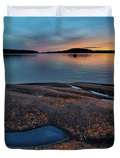 Mystic Pools Duvet Cover