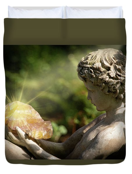 Duvet Cover featuring the photograph Mystical Enchantment by Dale Kincaid