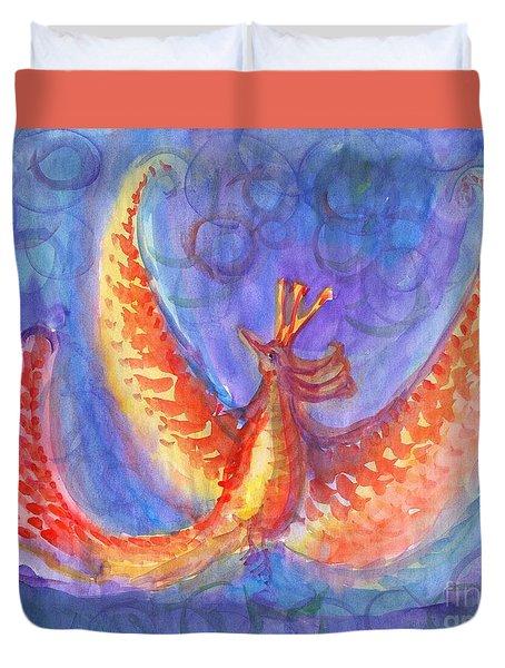 Mystical Phoenix Duvet Cover