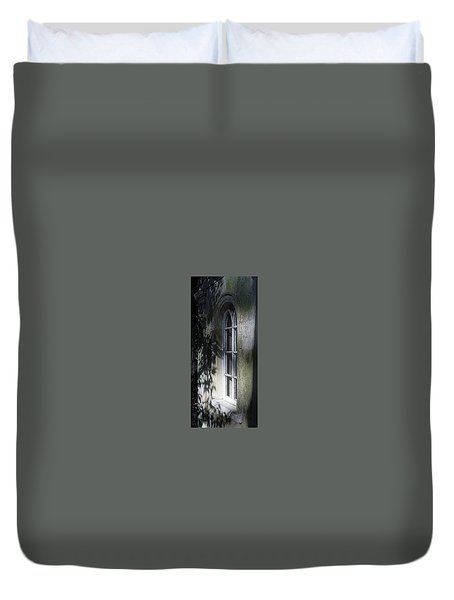 Mysterious Window Duvet Cover