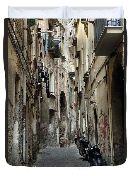 Naples Street Duvet Cover