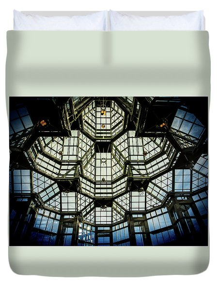 Glass Ceiling National Gallery Of Canada Duvet Cover