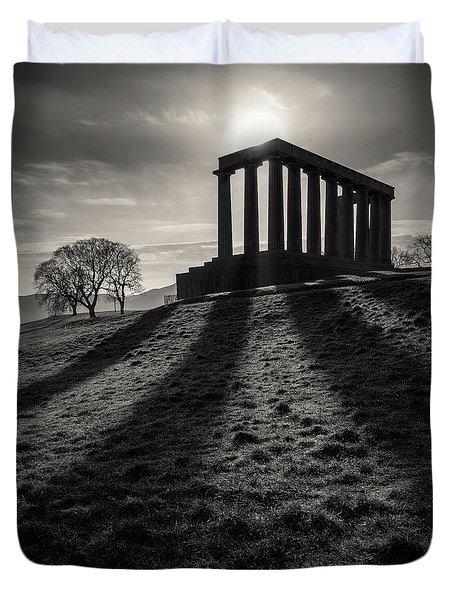 National Monument Of Scotland Duvet Cover