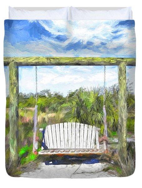 Nature Swing Duvet Cover
