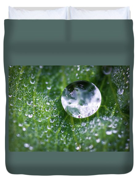 Natures Crystal Ball Duvet Cover