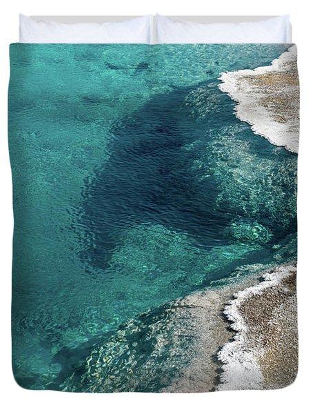 Nature's Hot Tub Duvet Cover