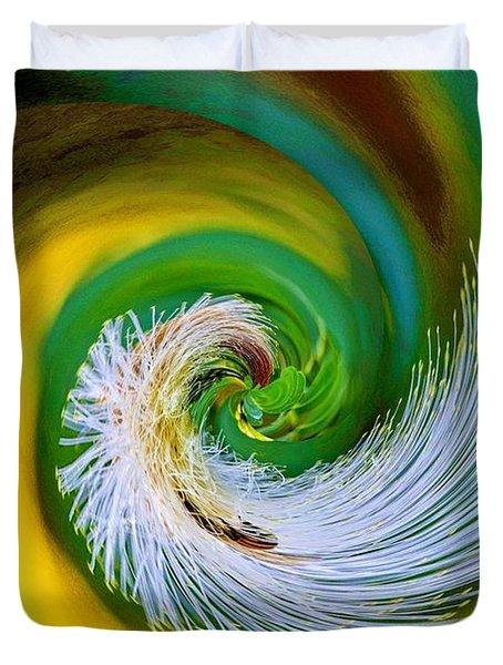 Nature's Spiral Duvet Cover