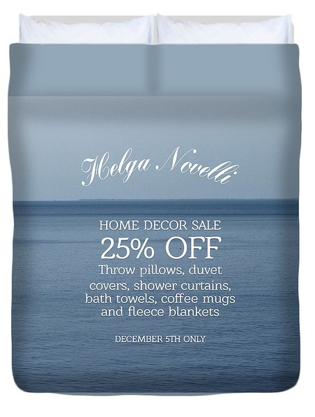 Nautical Offers Duvet Cover