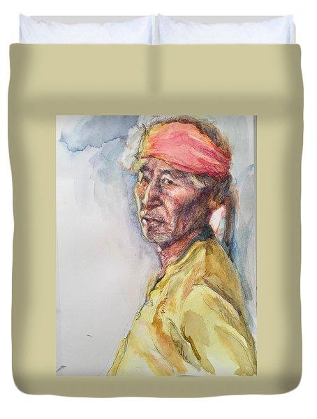 Navaho Man Duvet Cover