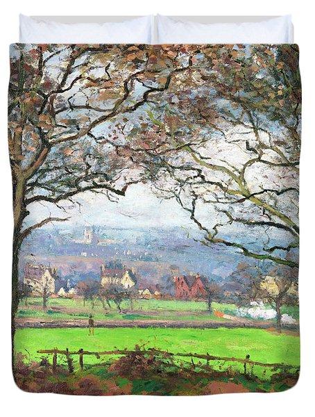 Near Sydenham Hill - Digital Remastered Edition Duvet Cover