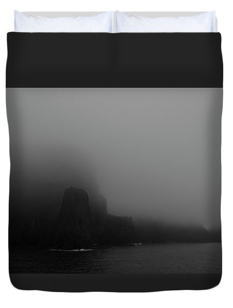 Near The End Of The World Duvet Cover