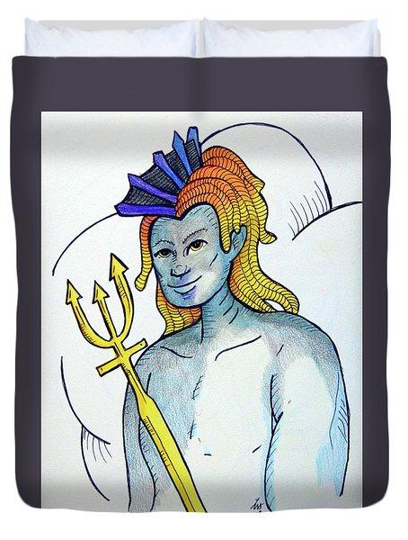 Neptune  Duvet Cover