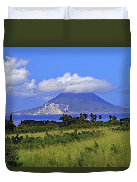 Duvet Cover featuring the photograph Nevis by Tony Murtagh