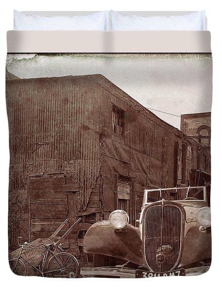 New 1936 Citroen Old Neighborhood Duvet Cover