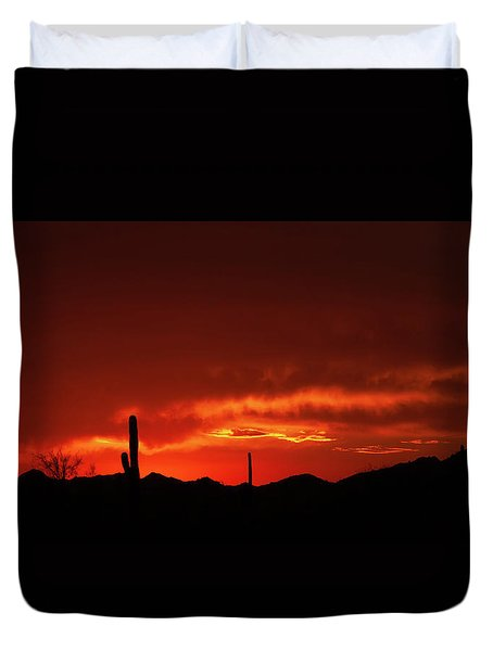 Duvet Cover featuring the photograph New Beginnings by Rick Furmanek