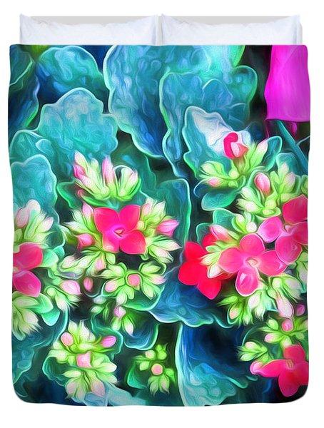 New Blooms Duvet Cover
