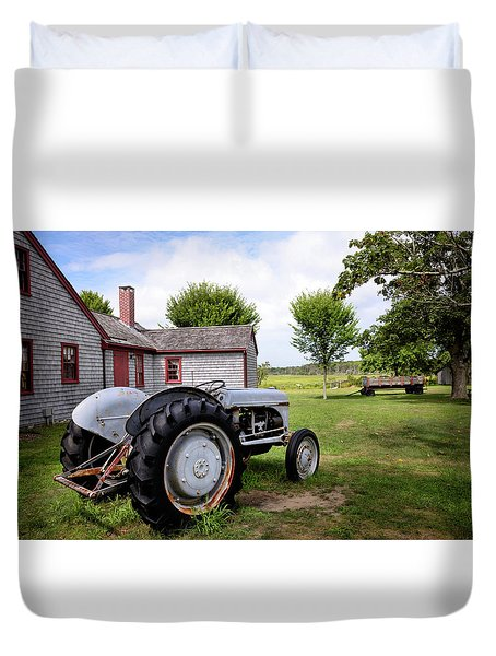 New England Charm Duvet Cover