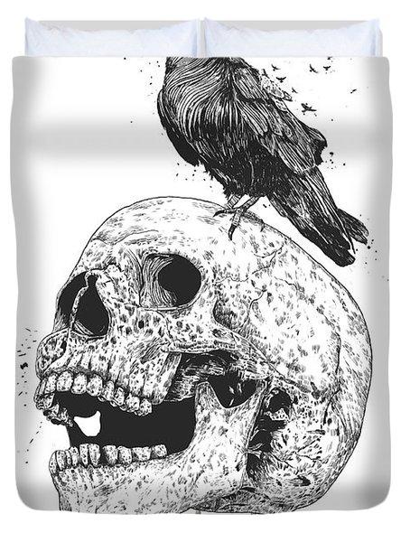 New Skull Duvet Cover