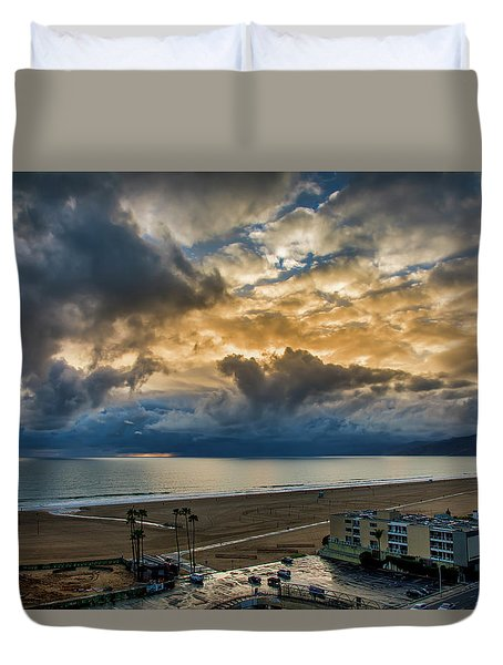 New Sky After The Rain Duvet Cover