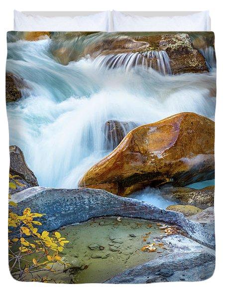 Nigel Creek Cascades Duvet Cover