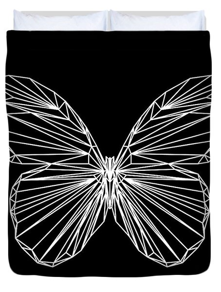 Night Batterfly Duvet Cover