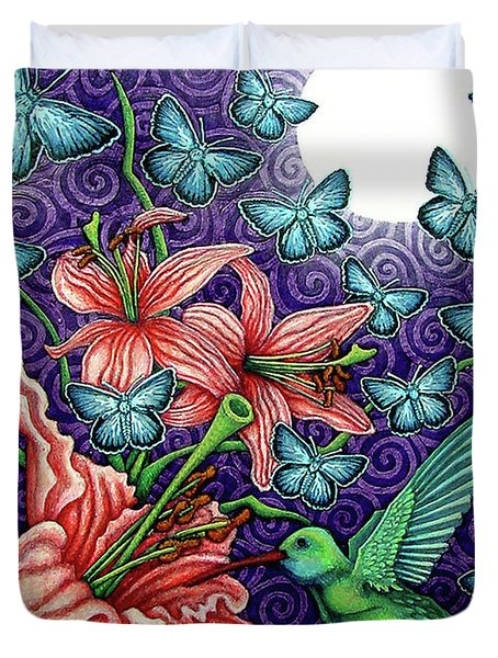 Night Garden 5 Duvet Cover