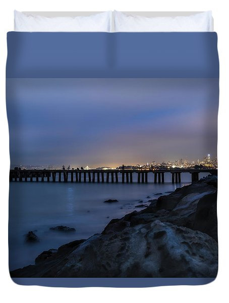 Night Pier- Duvet Cover