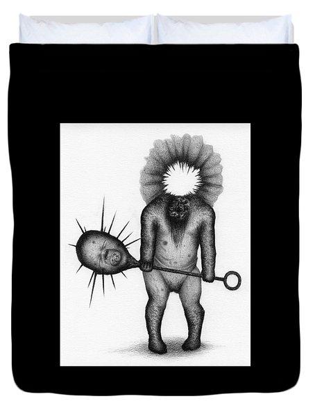 Nightmare Rattler - Artwork Duvet Cover