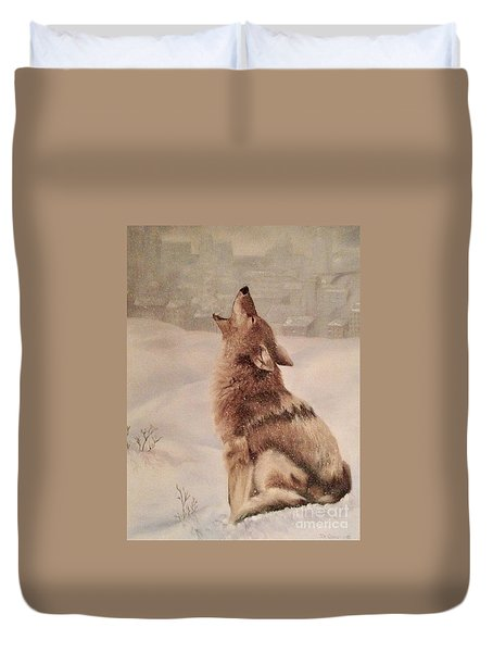 No Place To Roam Duvet Cover