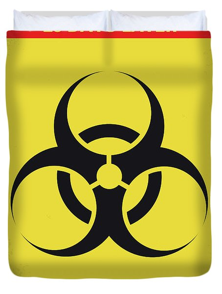 No1029 My 28 Days Later Minimal Movie Poster Duvet Cover
