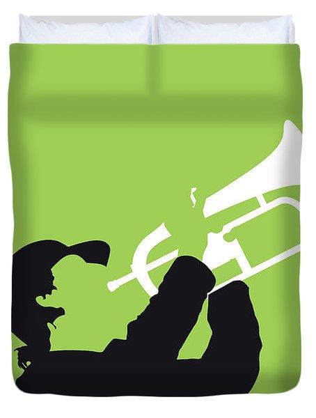 No236 My Kyteman Minimal Music Poster Duvet Cover
