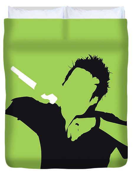 No246 My Michel Telo Minimal Music Poster Duvet Cover