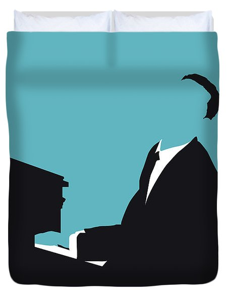 No255 My John Legend Minimal Music Poster Duvet Cover