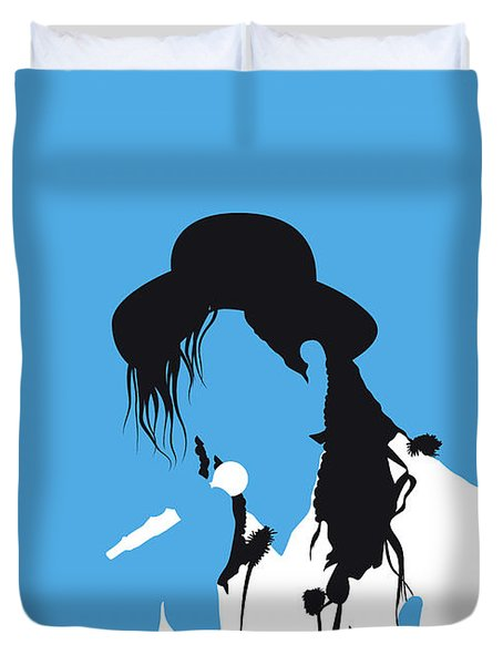 No269 My Culture Club Minimal Music Poster Duvet Cover