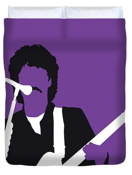 No271 My Hall And Oates Minimal Music Poster Duvet Cover