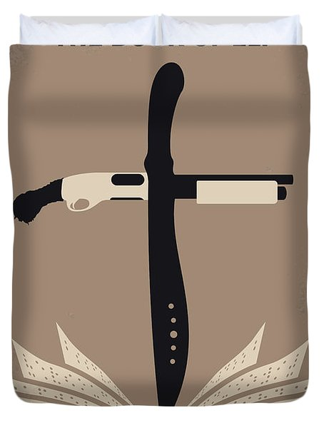 No978 My The Book Of Eli Minimal Movie Poster Duvet Cover