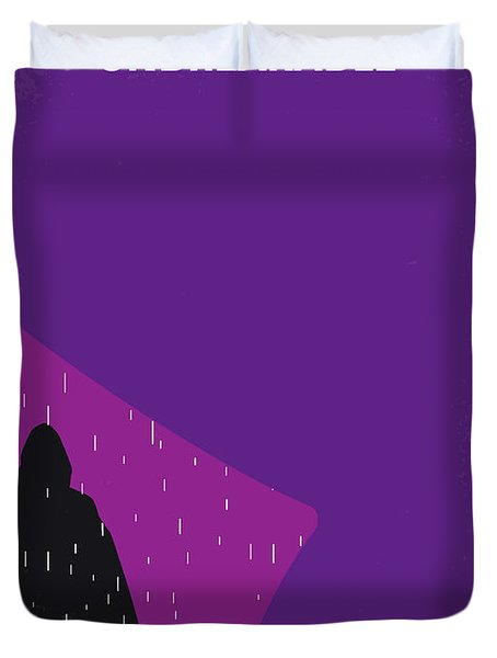 No986 My Unbreakable Minimal Movie Poster Duvet Cover