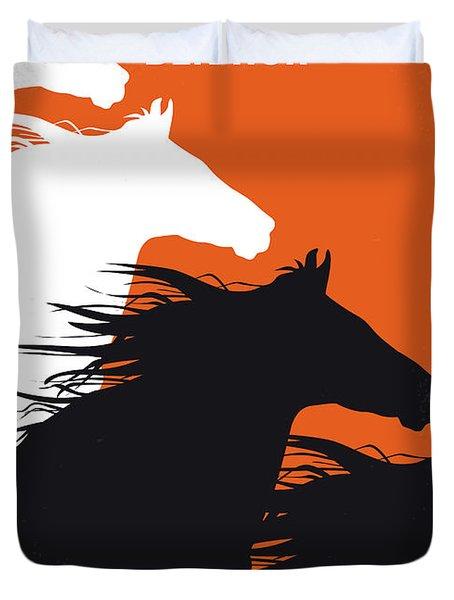 No989 My Ben Hur Minimal Movie Poster Duvet Cover