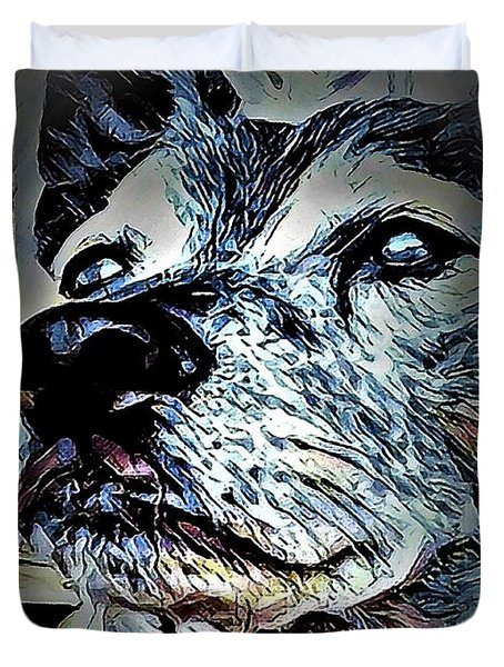 Noble Beast Duvet Cover