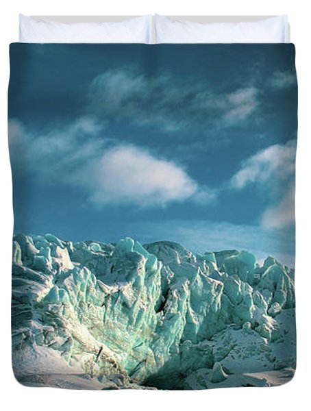 Nordenskioldbreen Duvet Cover