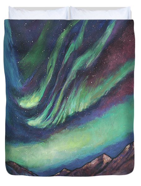 North By Northwest Duvet Cover