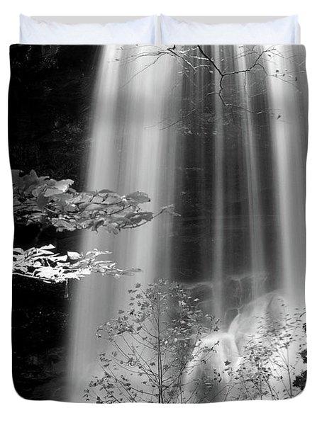 North Carolina Falls Duvet Cover