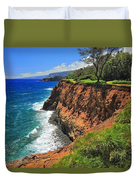 North Hawaii View Duvet Cover