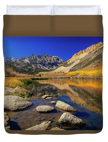 North Lake Duvet Cover
