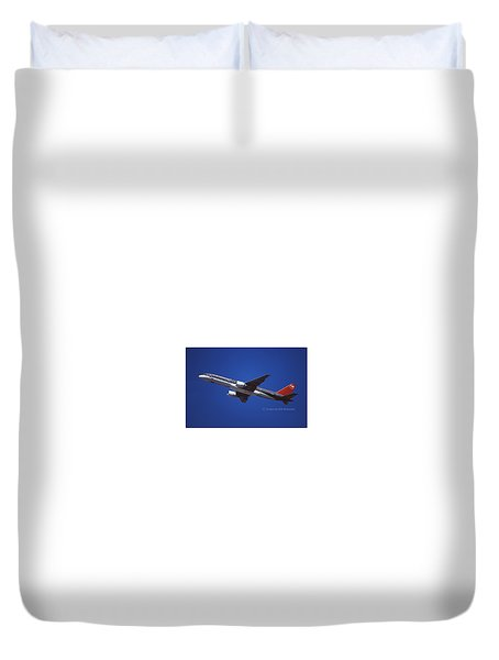Northwest Airlines Boeing 757-251 Duvet Cover