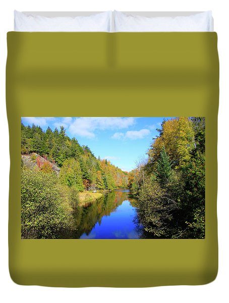 Northwoods Reflection Duvet Cover
