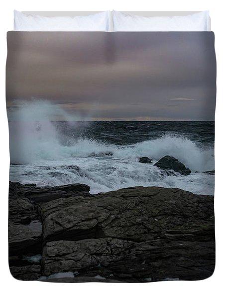 Norwegian Wild Waters Duvet Cover