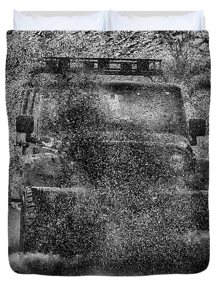 Nothing Like A Jeep Duvet Cover