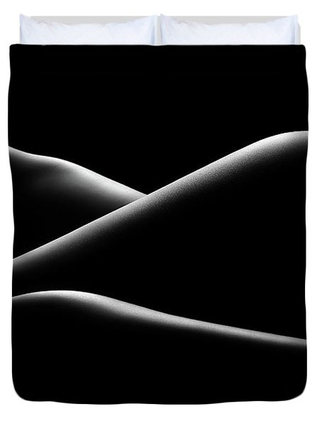 Nude Woman Bodyscape 17 Duvet Cover