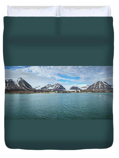 Ny Alesund Duvet Cover